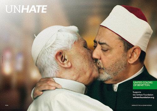 Социальная реклама United Colors of Benetton, шокирующая мир