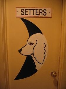 Дизайн туалетных указателей