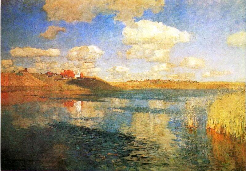 Левитан. Озеро
