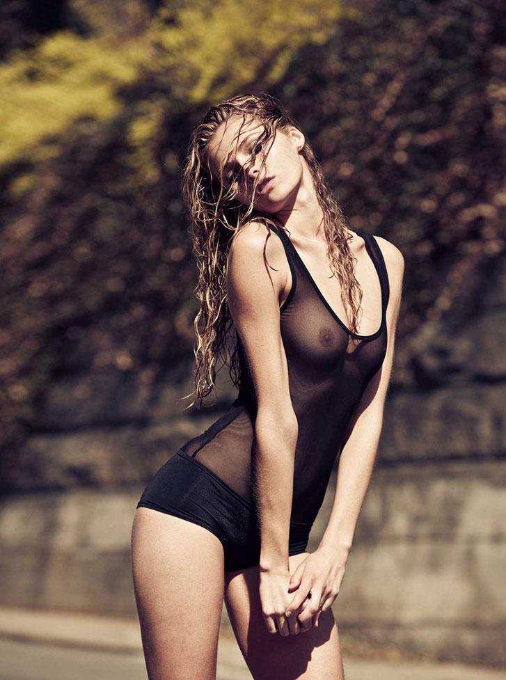 модель Валентина Зеляева / Valentina Zelyaeva, фотограф Rony Shram