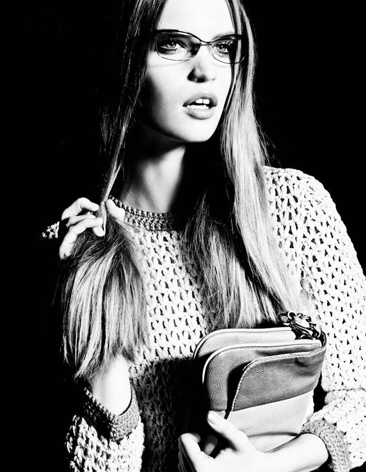 модель Луиза Бьянчин / Luisa Bianchin, фотограф Hicham Riad