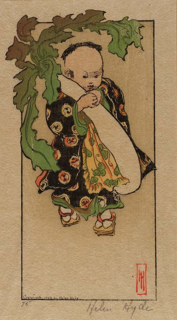 The Daikon and the Baby 1903 Helen Hyde
