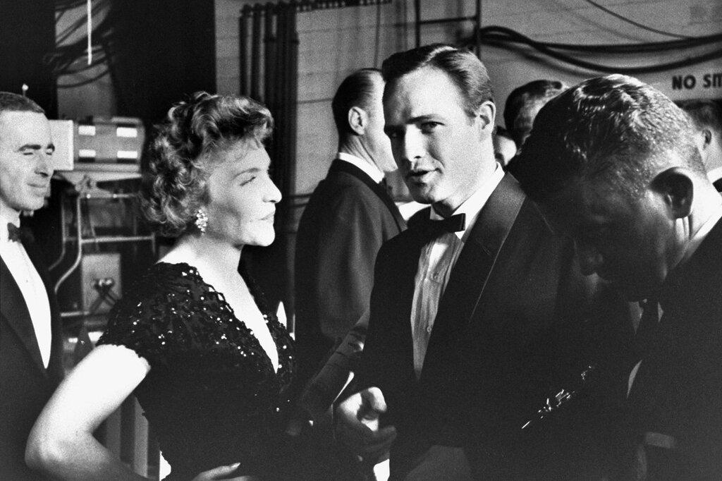 Марлон Брандо 1955