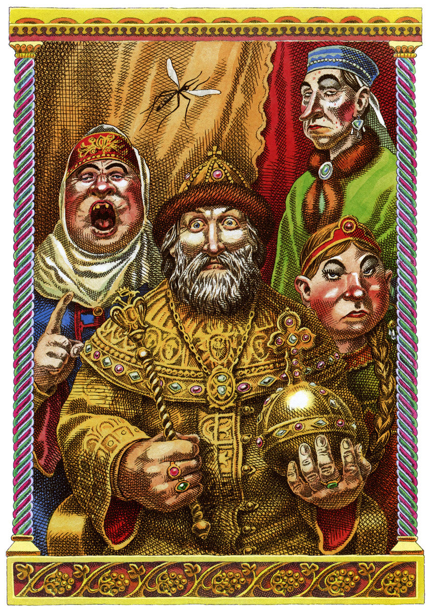 С. Лемехов, Сказка о царе Салтане