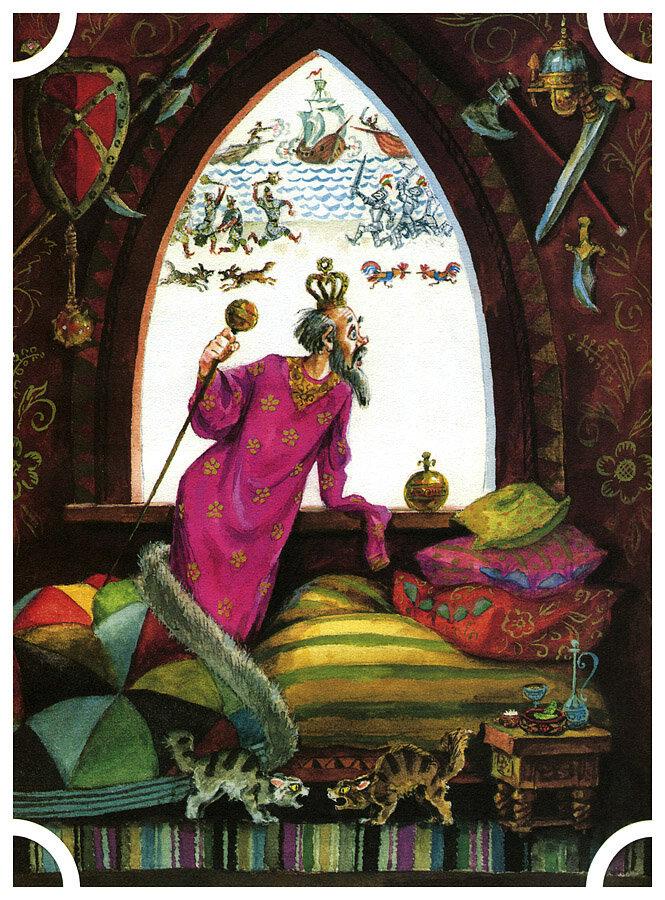 Елисеев, Сказка о золотом петушке