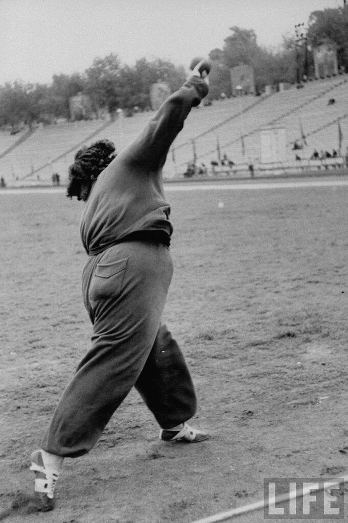 Летняя Спартакиада народов СССР 1956.Фото Lisa Larsen