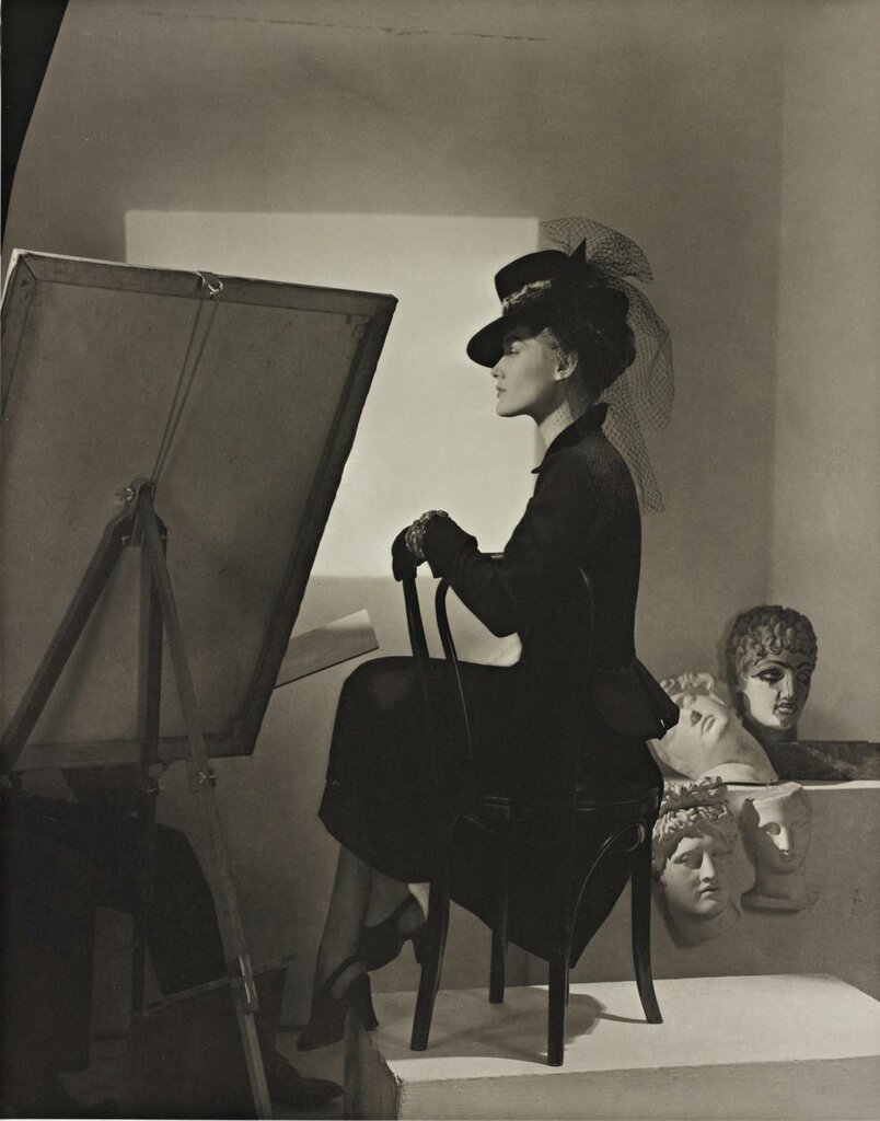 Horst P Horst .Estrella Boissevain, Fashion Shot, New York, 1938