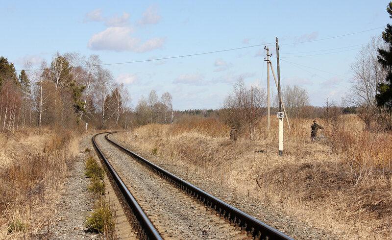 Калязинская горловина станции Белый городок