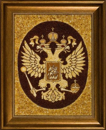 Почему на гербе России изображен двуглавый орёл.  - Генон.