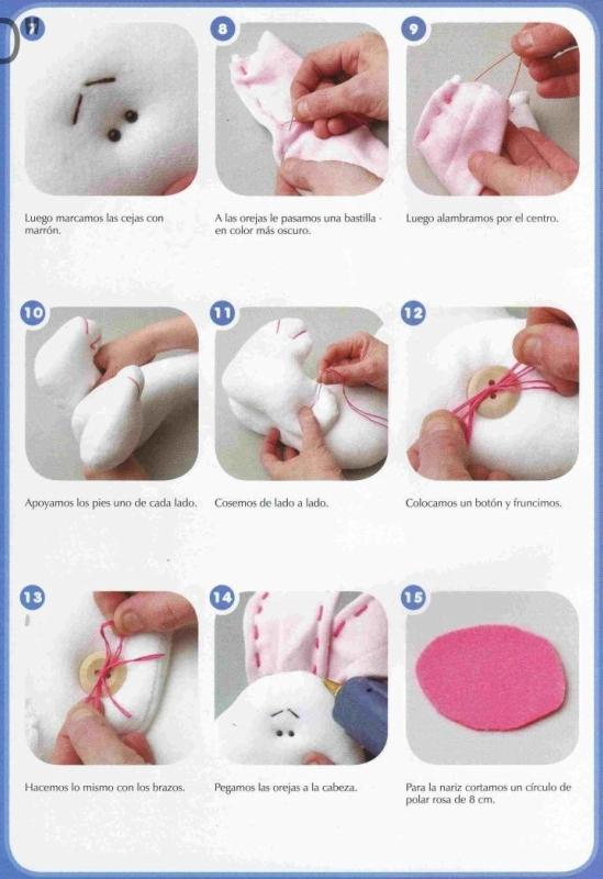 Как сшить игрушку из фетра пошаговая инструкция
