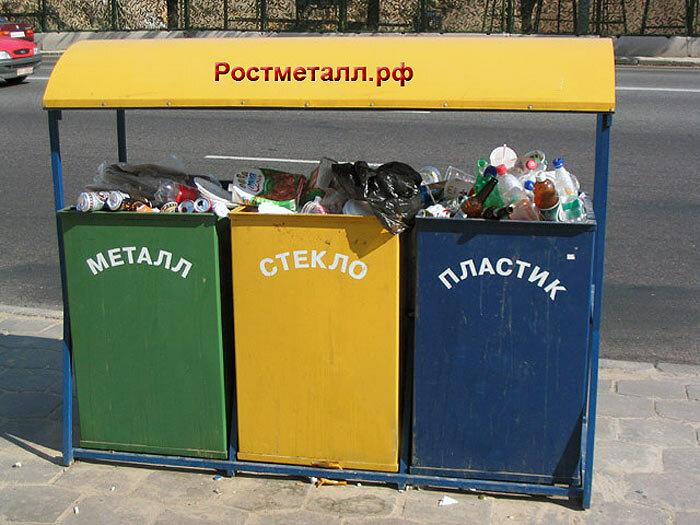 Контейнера для мусора от Ростметалл.рф