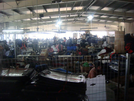 Завод по производству авточехлов Китае