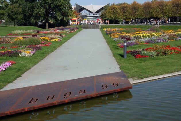 Elbauenpark. Магдебург, Германия