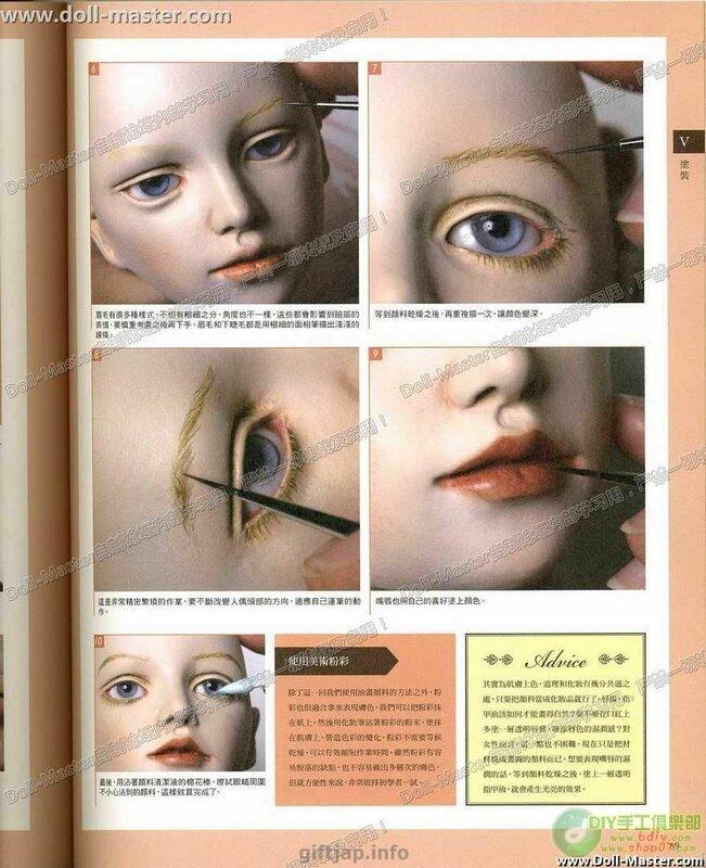 Шарнирная Кукла Книгу