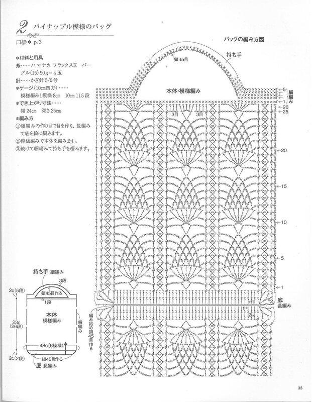 Вязание крючком модели сумочек 2