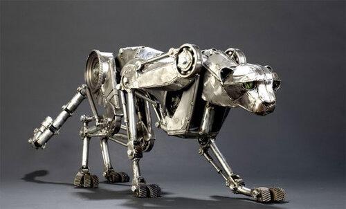 Робот-гепард поставил рекорд скорости