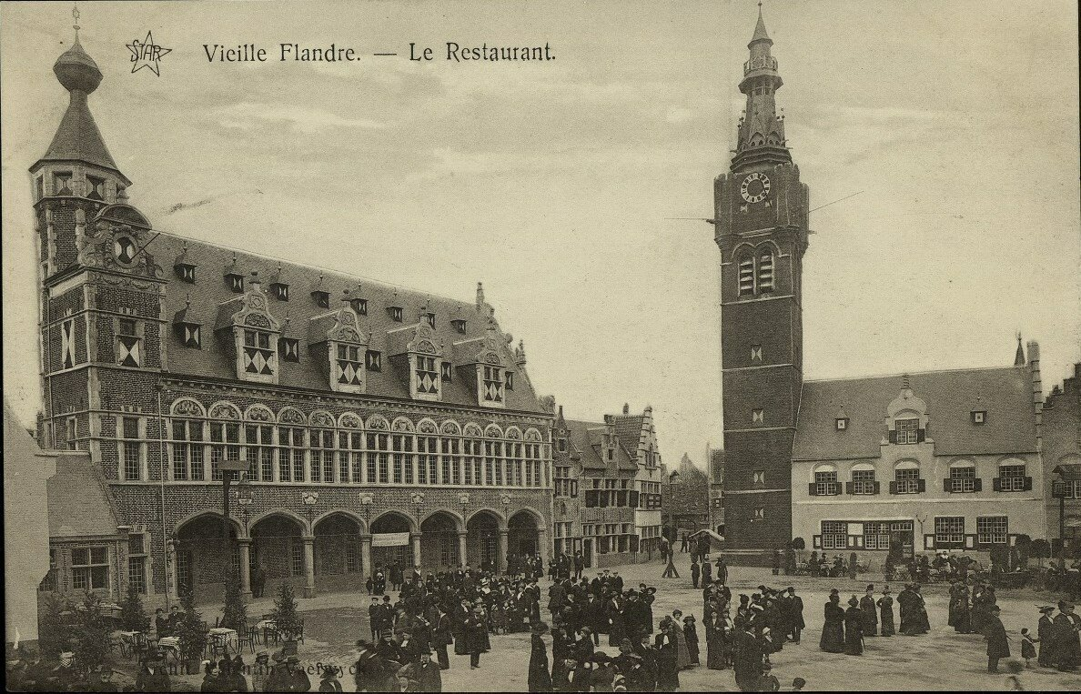 Павильон Фландрии. Ресторан