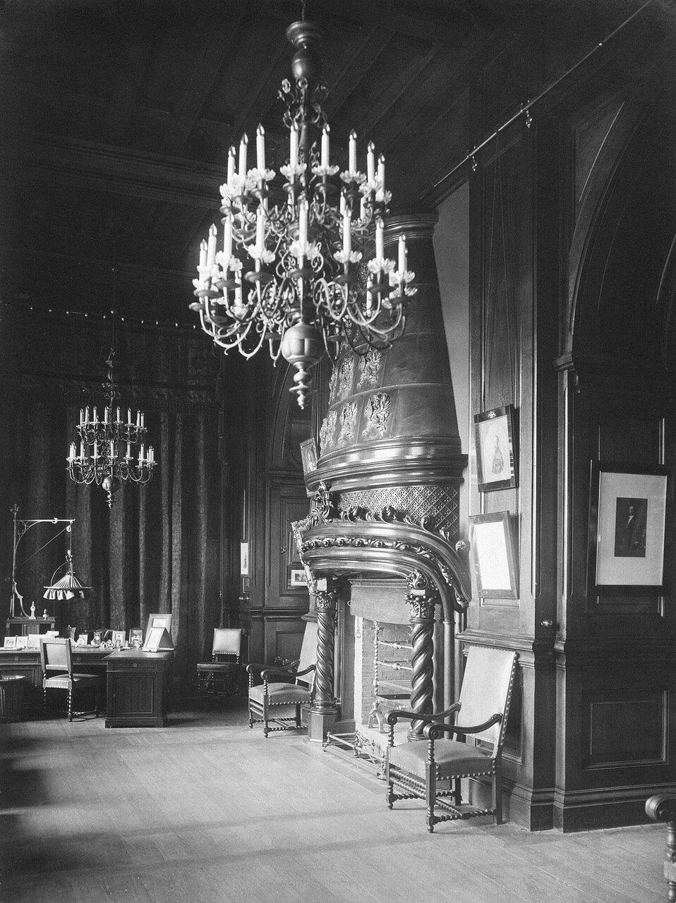 Кабинет императора Николая II в Зимнем дворце