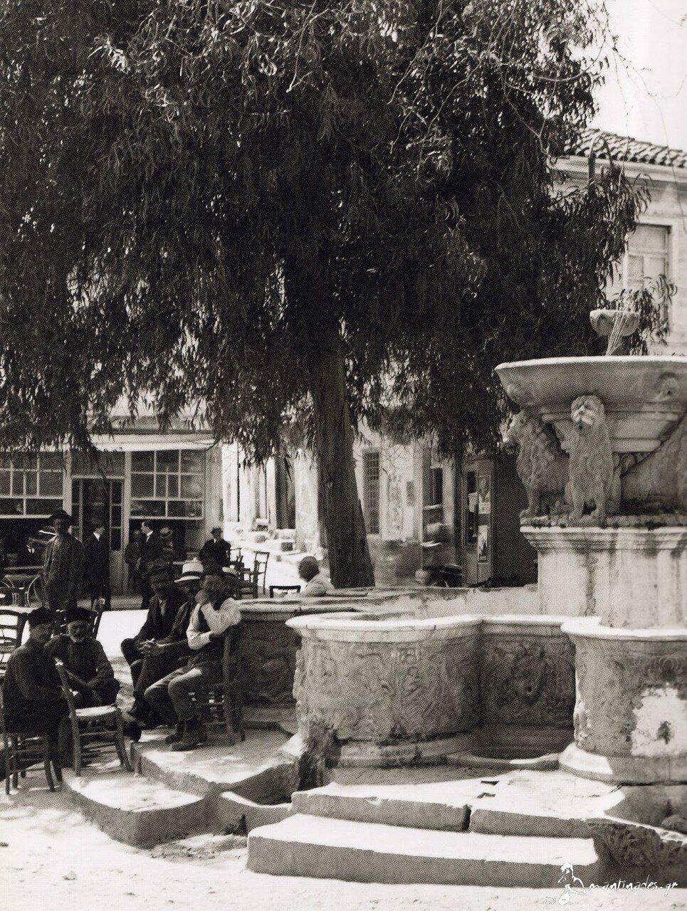 1920. Крит, Ираклион. Фонтан «Морозини»