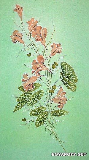БАТИК - это утончённая ручная роспись по шелку.  БАТИК - это произведение искусства с превосходным дизайном...