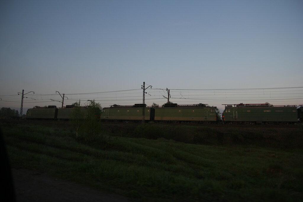 Поезд в Медведёвке