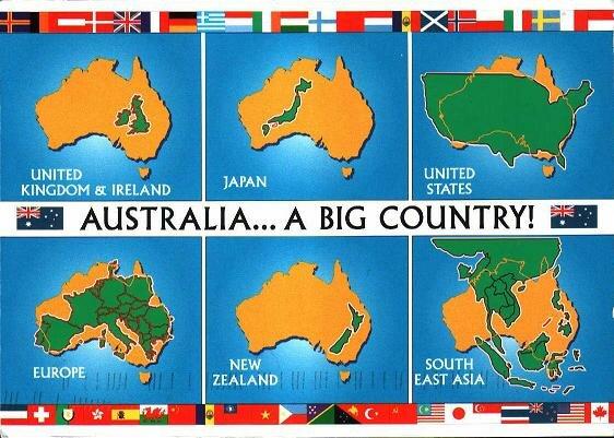 Australia Uk Map Comparison.Area Size Comparison Of Australia Ivgnnm Livejournal