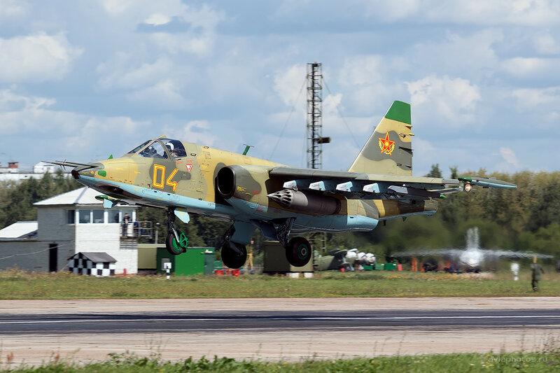 Сухой Су-25 (04 желтый) D800261a