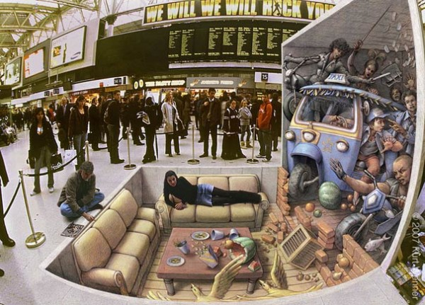 3D иллюзии от Курта Веннера