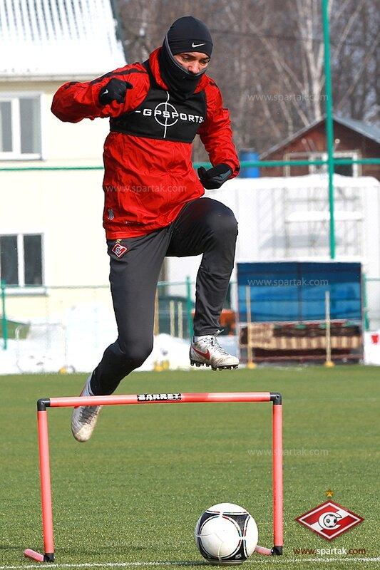 Открытая тренировка «Спартака» в преддверии дерби  (Фото)