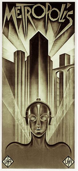 Top Selling Film Posters - Metropolis, 1927