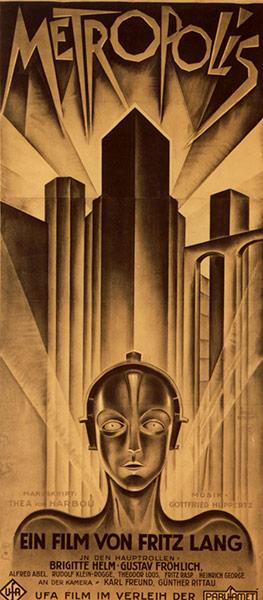 Top Selling Film Posters - Metropolis (German Poster), 1927