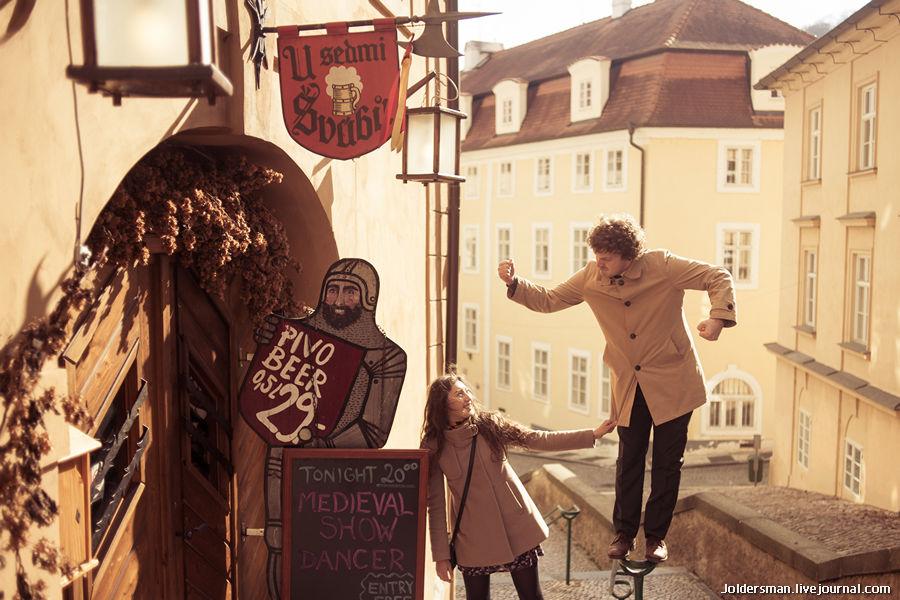 Фотосессия в Праге - прогулка по старому городу