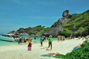 Пляж Симиланского национального парка. Таиланд. Пхукет.