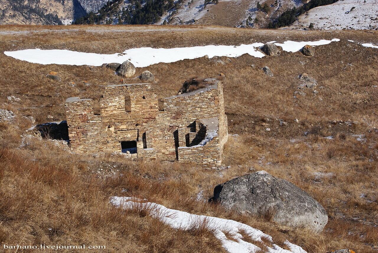 Горная Ингушетия. Храм Альби-Ерды