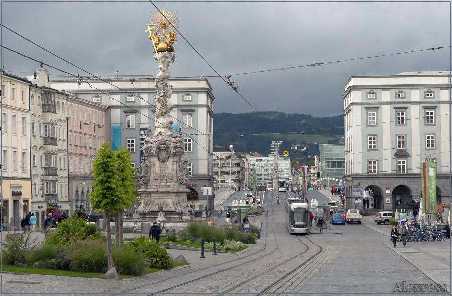 Главная площадь Линца