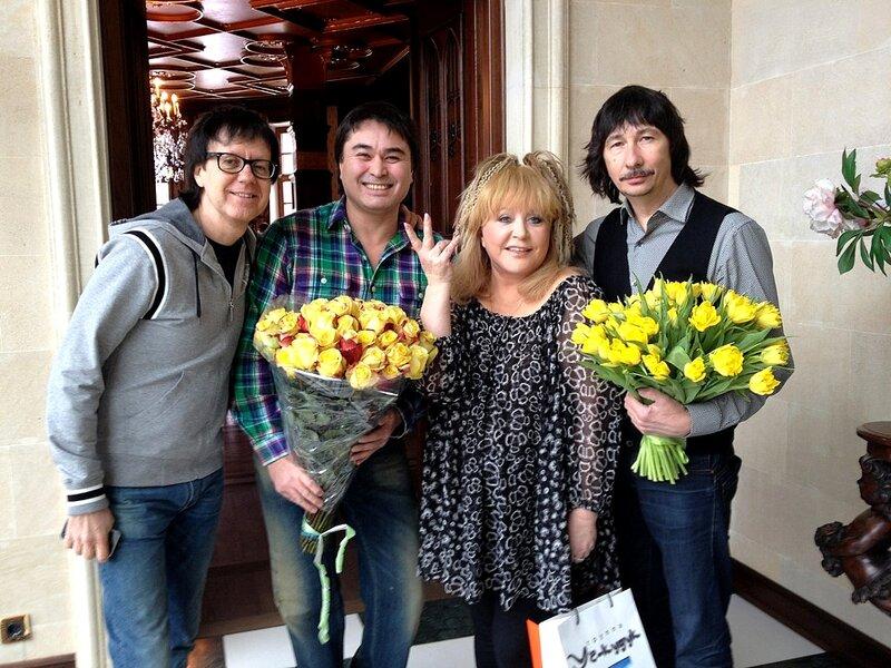 Первое воскресенье весны Алла Пугачева и А - Студио