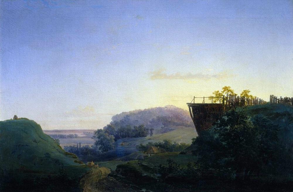 Украинский пейзаж 1849 холст масло 54 х 81 см ГТГ.jpg