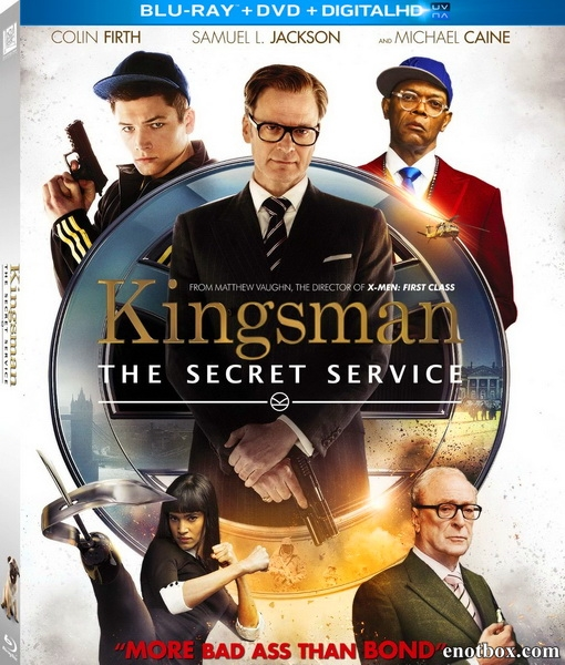 Kingsman: Секретная служба / Kingsman: The Secret Service (2014/BDRip/HDRip)