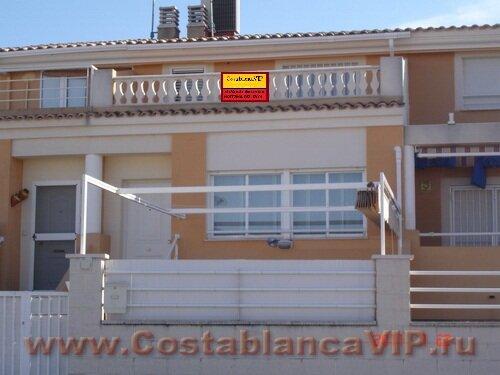 Таунхаус в Daimuz, Таунхаус в Даймусе, таунхаус в Испании, недвижимость в Испании, Коста Бланка, CostablancaVIP, таунхаус на пляже в Испании