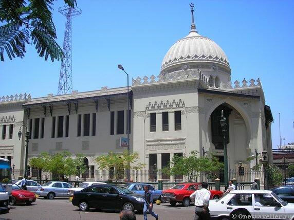 Египет. Каир. Мечеть.
