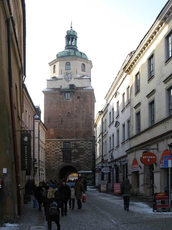 Краковские ворота (Brama Krakowska), Люблин