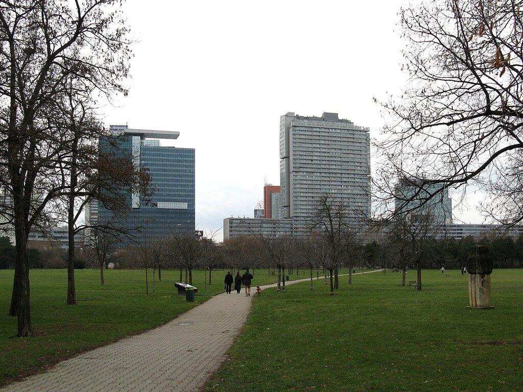 Парк Дунай (Donaupark), Вена