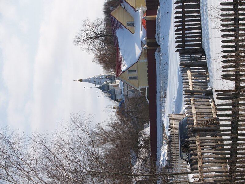 Утоли мои печали (с колокольней) и церковь Преображения Господня (пятиглавая)