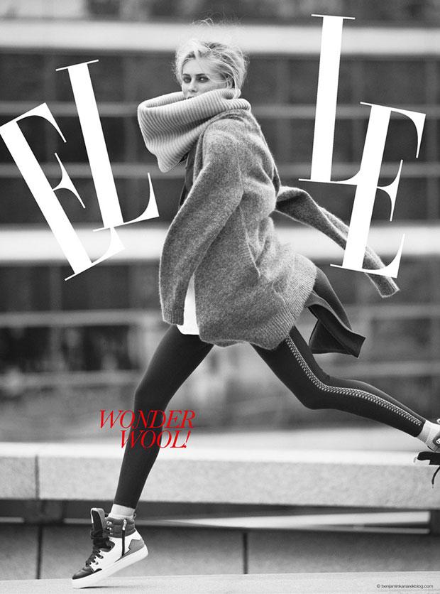 Вика Фалилеева (Vika Falileeva) в журнале ELLE Vietnam