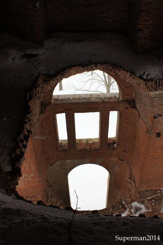 г.Венёв - внутри колокольни Николаевской церкви