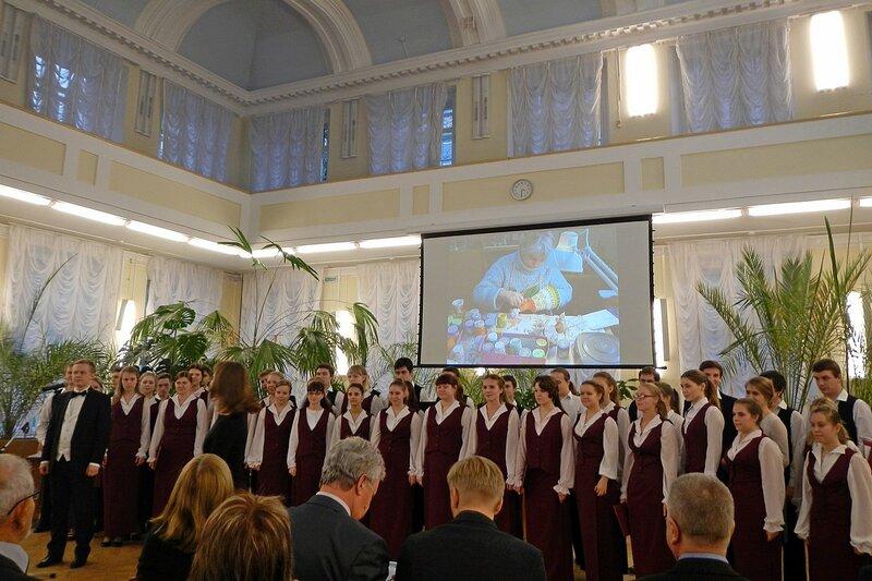 Выступление хора училища искусств - презентация фотоальбома «Хлынов - Вятка - Киров»