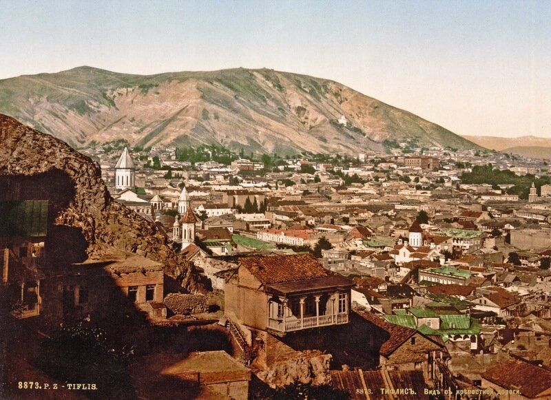 From the road to the fortress, Tiflis, Russia, ca. 1890-1900.jpg