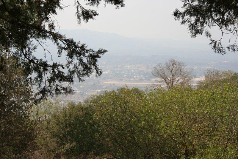 Вид на окрестности с холма Филерим