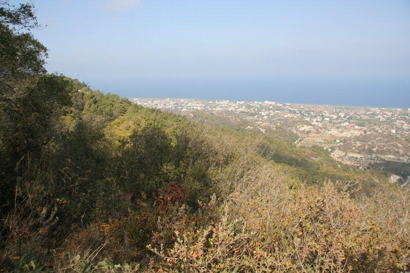 Вид на окрестности с Филеримского холма