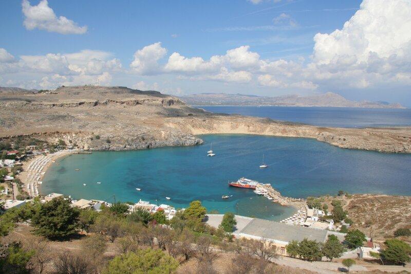 Эгейское море, Линд, Родос, свобода